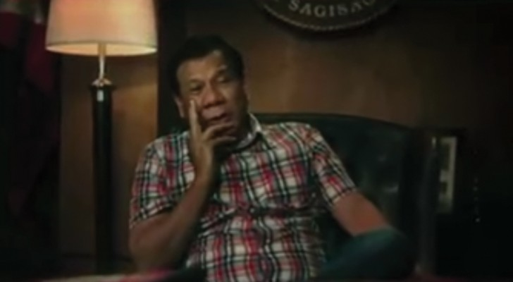 The President of the Philippines's shocking Merry Christmas message!