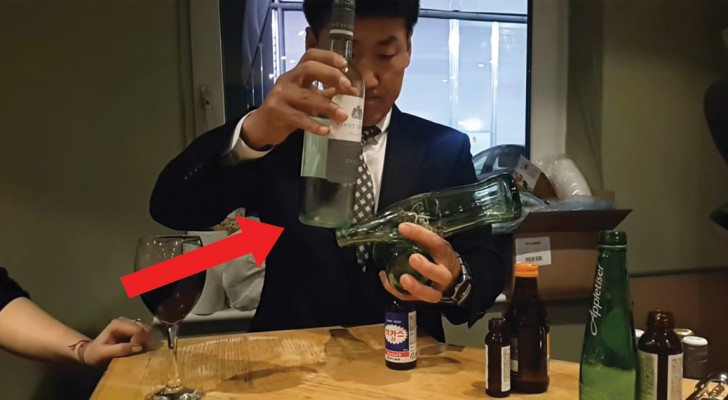 Witness the ultimate office holiday party trick! Wow!