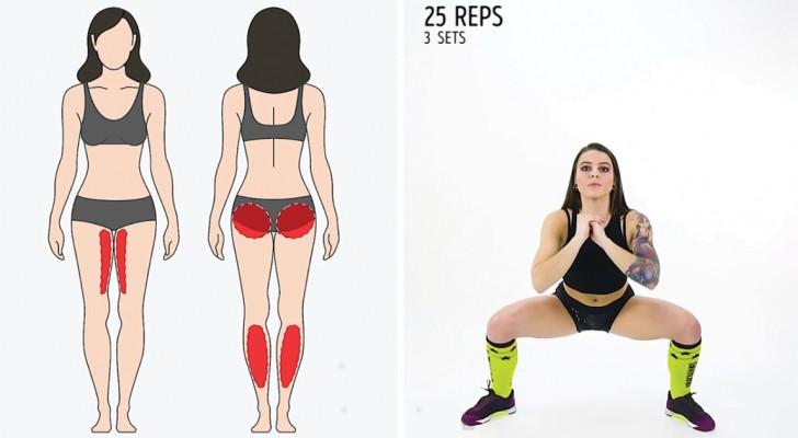 Allenamento rapido e mirato: 6 esercizi tonificanti che fanno la differenza