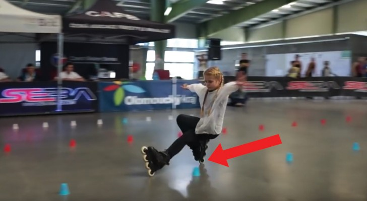 See what a world class champion freestyle skater can do! WoW!