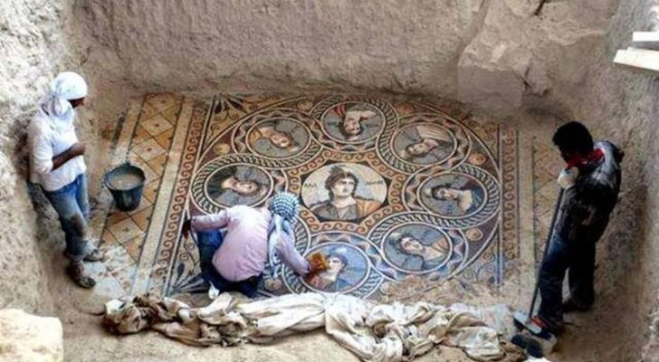 Ils sauvent des mosaïques antiques d'une inondation : après 2000 ans, l'état de conservation est étonnant