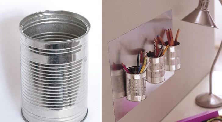 Lattine di metallo: scoprite come riciclare questi comuni contenitori in maniera utile
