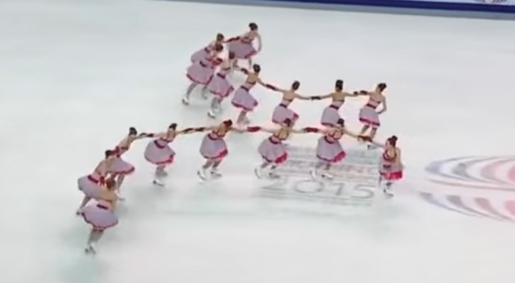 Team Russia One shows the world synchronized skating at its best!