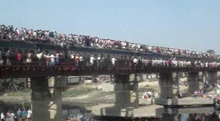 Como tomar el tren en Bangladesh