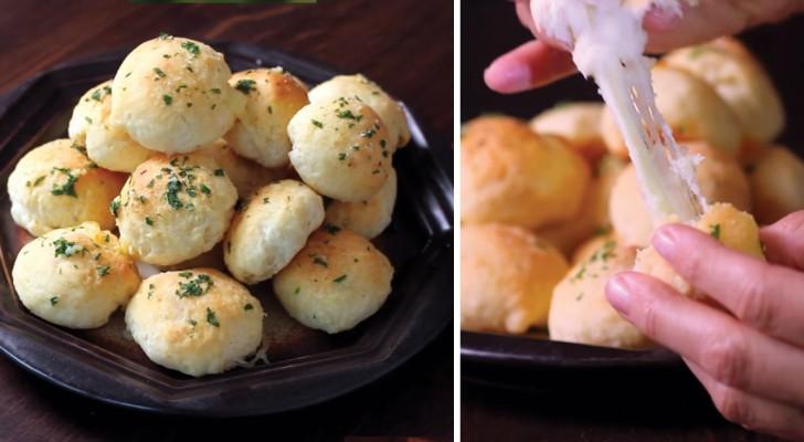 Bombe di formaggio all'aglio: per chi ama un gusto ricercato senza rinunciare alla semplicità!