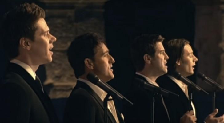 Este himno es cantado desde el '700: la version de este cuarteto los llevara hasta tener lagrimas en los ojos
