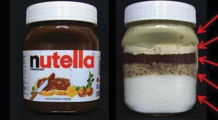 Was ist drin im Gläschen? Ein Bild zeigt, aus was Nutella wirklich besteht