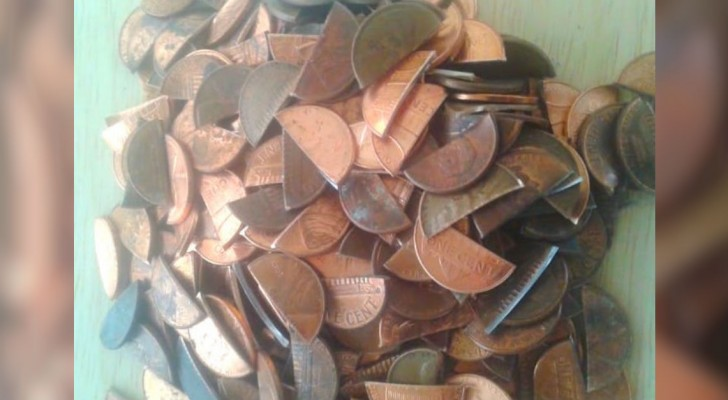 Er wollte eine besondere Küche haben: 1 Cent-Stücke haben ihm dabei geholfen