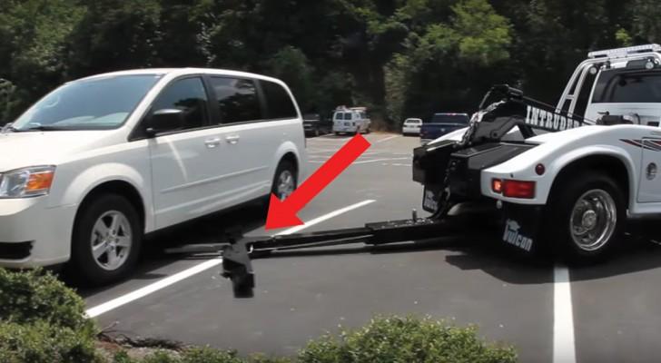 Ein kurioses Fahrzeug nähert sich dem Wagen: was dann in wenigen Sekunden passiert wird euch Sorgen bereiten