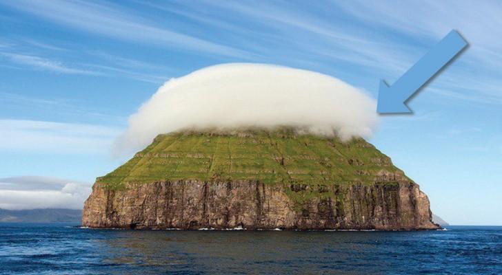 Lítla Dímun is een piepklein eiland in de Atlantische Oceaan dat alleen per klimtouw is te bereiken
