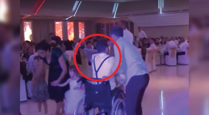 Seit einem Verkehrsunfall ist er gelähmt, aber bei der Hochzeit seiner Schwester hat er alle überrascht...