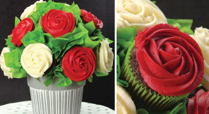Impressionnez vos invités avec ce magnifique bouquet de DESSERTS: il est super facile à faire