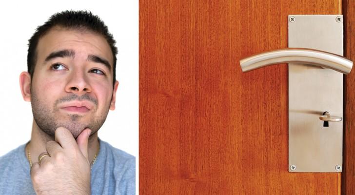 Vi capita di entrare in una stanza con uno scopo e - Entrare in una porta ...