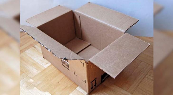 Como transformar una simple caja de carton en un objeto perfecto para vuestro baño