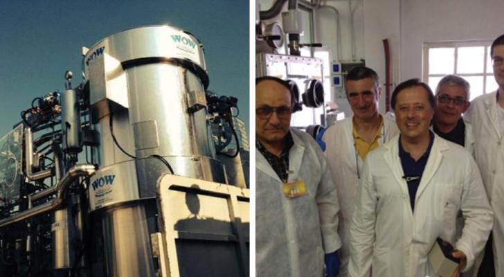 La macchina che trasforma i rifiuti radioattivi in acqua pura: una scoperta epocale tutta italiana