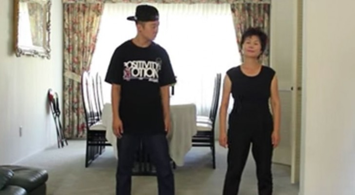 This mom totally rocks Gangnam Style!