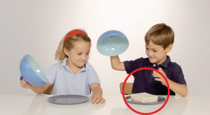 In dit experiment ontvangt het ene kind eten en het andere kind nog niet: in hun reactie schuilt een wijze les!