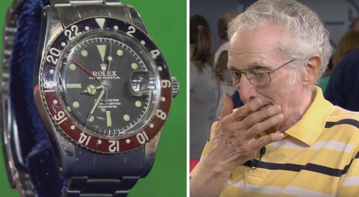 Il apporte sa vieille Rolex chez un expert: lorsqu'il découvre la valeur de la montre, il est abasourdi
