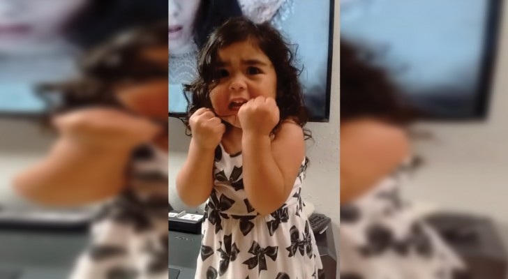 The passionate singing of this 3-yr-old will win your heart!