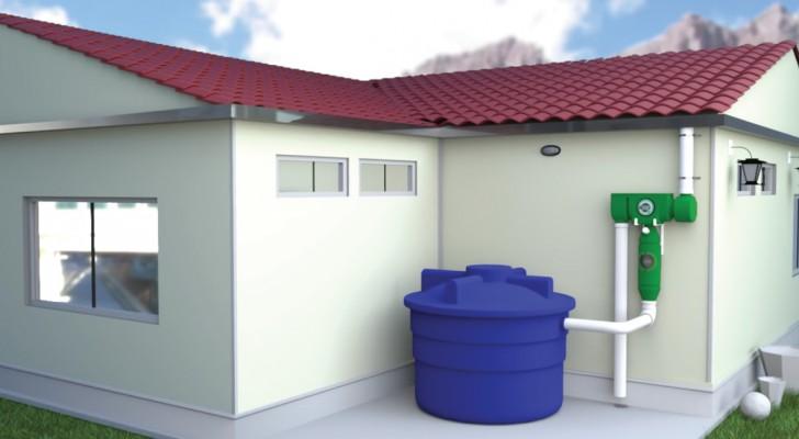 Transformer l'eau de pluie en de l'eau potable: l'invention qui permet d'en accumuler jusqu'à 15.000 litres