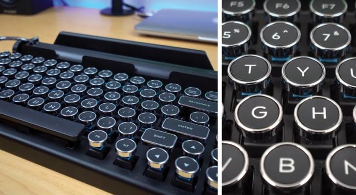 Aqui con ustedes el teclado que transforma cada dispositivo en una maquina de escribir