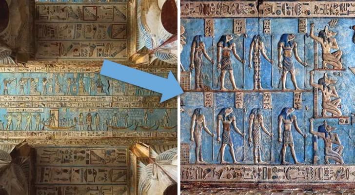Torna a splendere dopo migliaia di anni uno dei templi meglio conservati dell'antico Egitto