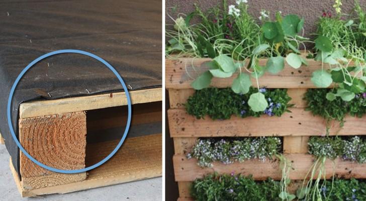 Comment transformer une palette en un jardin vertical for Jardin vertical en balcon