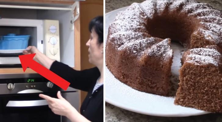 Biscochuelo de cacao al horno de microondas: el dulce DELICIOSO hecho a ultimo minuto