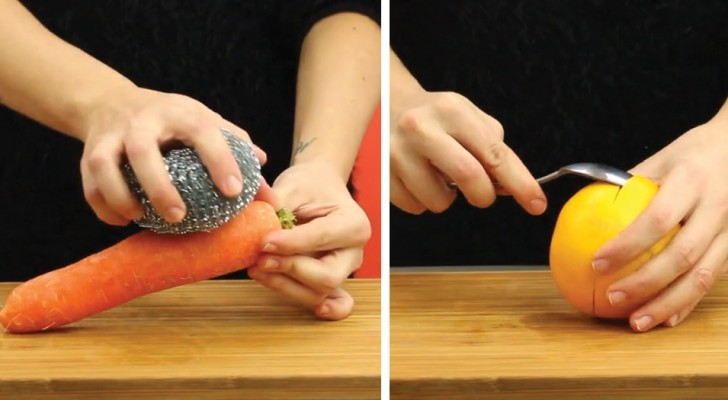 Six clever hacks to help you peel food quickly and easily!