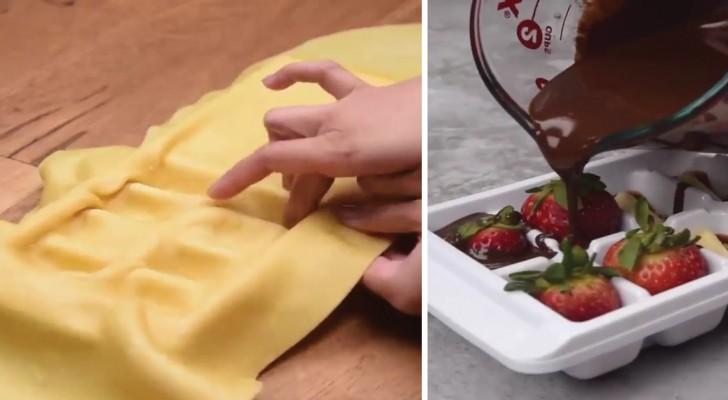 4 modos originais de usar a forminha de gelo para dar vida a criações muito gostosas!