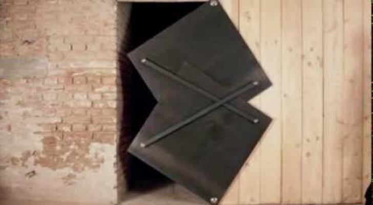 Une porte tr s originale for Porte originale