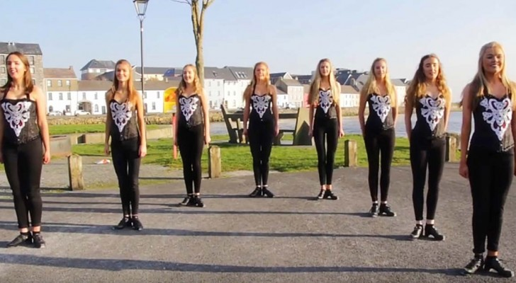 The Galway Girls Irish dance tribute to Ed Sheeran!