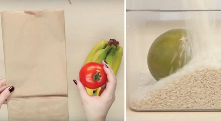 Descubra 5 simples modos de fazer a fruta amadurecer mais rápido