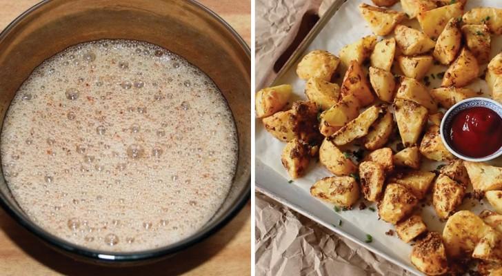 Papas crocantes sin aceite, asi es como se preparan buenas como si fuesen fritas!