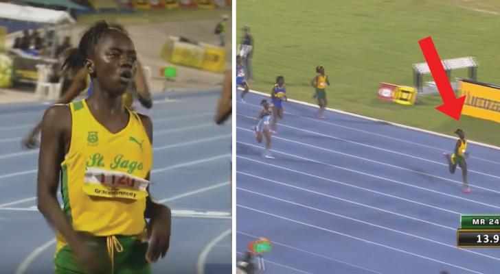 Com 12 anos ela já 'corre atrás' de Bolt: os 200 metros desta atleta são recorde!