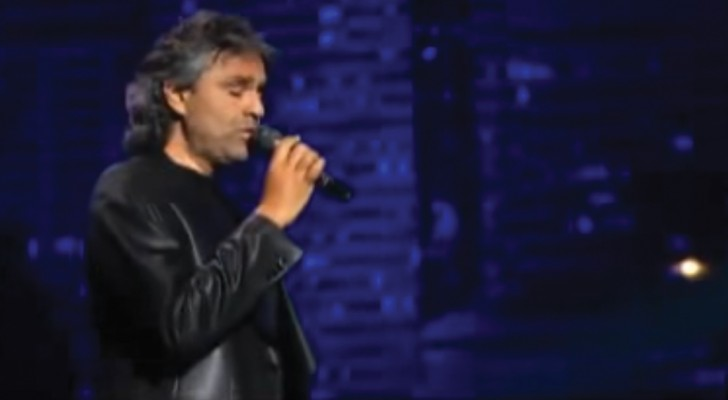 A famous Elvis song covered by Andrea Bocelli ... WoW!