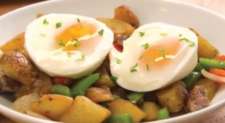 L'astuce pour cuisiner des œufs pochés de manière rapide et surtout INFAILLIBLE