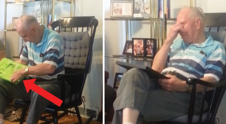 Huerfano a los 13 años este hombre recibe de regalo una foto de la madre: la reaccion es dulcisima