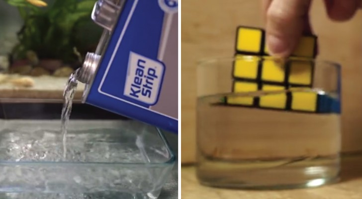 Il plonge le Rubik's Cube dans de l'acétone: voici de quoi est capable ce dissolvant commun
