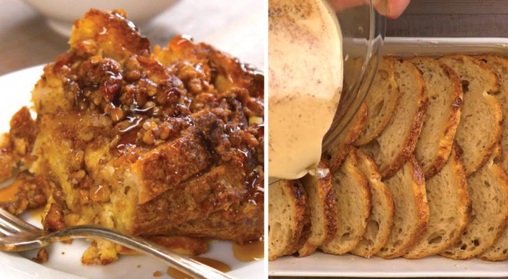 Du willst altbackenes Brot nicht wegwerfen? Lerne hier ein köstliches French Toast zu kreieren.