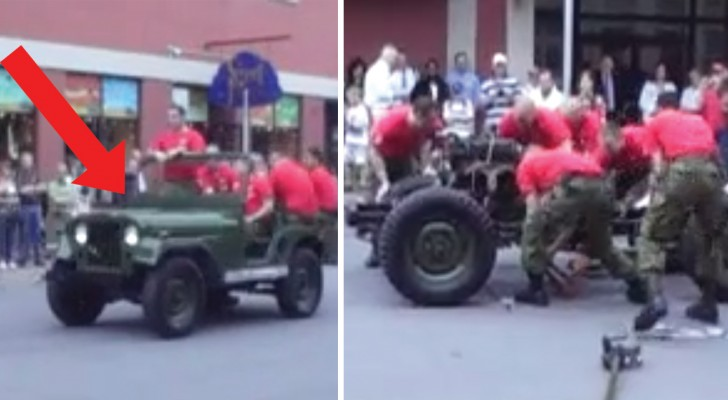 See this jeep disappear and reappear in minutes!