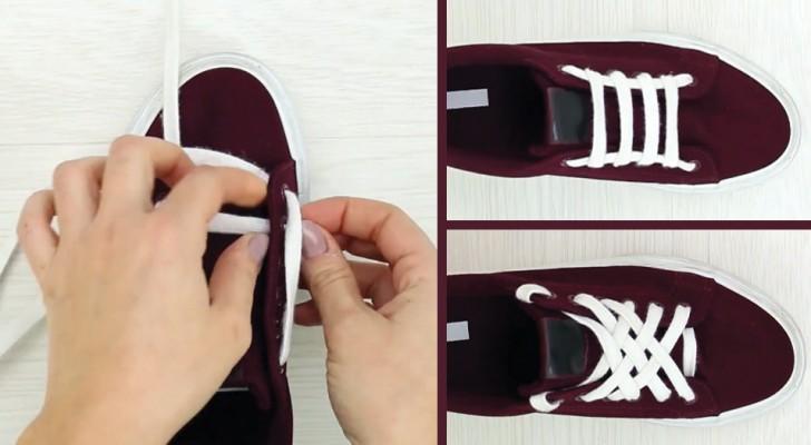 6 modos diferentes de sujetar el cordon del calzado que te daran un toque de estilo