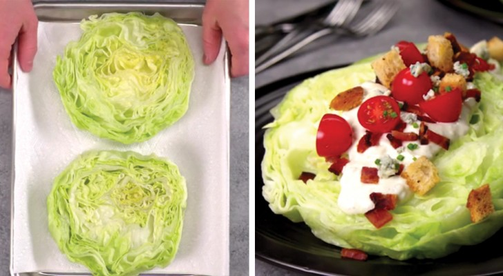 Discover this fantastic Iceberg Wedge Salad recipe! Wow!