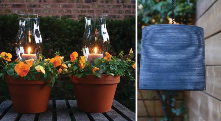 Ideeën om de tuin mooier te maken met doe-het-zelven en bijna zonder kosten