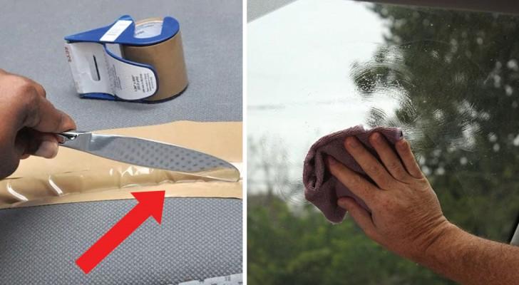 11 Tricks um das Auto zu putzen und es sauber zu halten ohne viel Geld für Produkte auszugeben