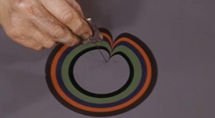 El efecto marmol de los años '70: asi es como eran creadas aquellas tramas caracteristicas