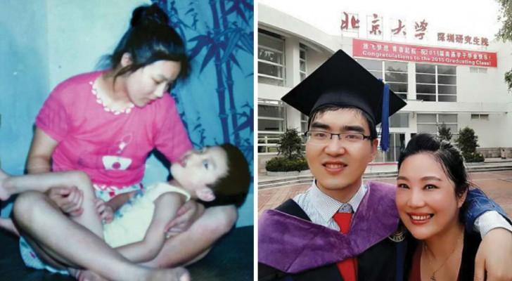 Sie weigerte sich, ihren behinderten Sohn in Pflege zu geben: Nun studiert dieser in Harvard