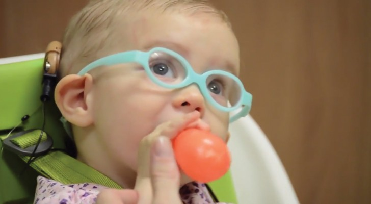 With an innovative implant, this baby girl can finally hear her mother!