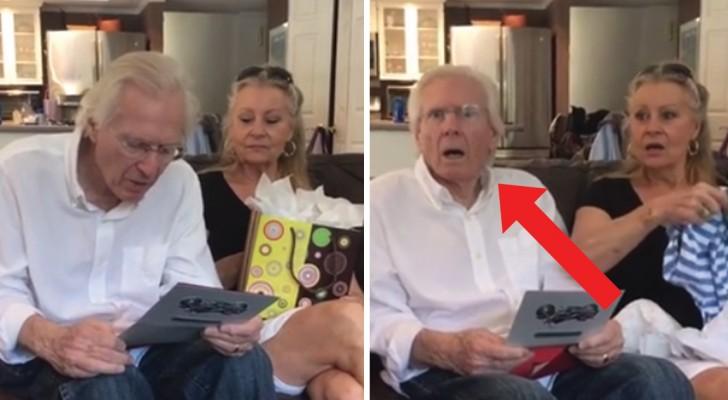 Il giorno della festa del papà gli dicono che diventerà nonno: la reazione dell'uomo è bellissima