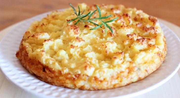 Sbriciolata di patate e melanzana con cuore filante di formaggio: come resistere alla tentazione?